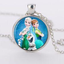 Kids Frozen Anna Elsa Olaf Girls Necklace Gift Christmas Stocking Filler UK