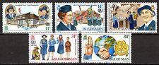 Isle of Man - 1985 75 years girl-scouts - Mi. 272-76 MNH