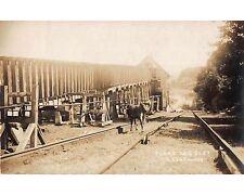 ST379b: MORRIS CANAL PLANE 2 EAST At LEDGEWOOD NJ Harris RPPC Postcard c. 1910