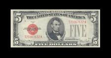 1928-F UNITED STATES NOTE FIVE DOLLARS $5 **RARE** (( aUNC ))
