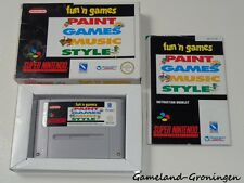 Super Nintendo / SNES Game: Fun 'n Games [PAL] (Complete) [UKV]