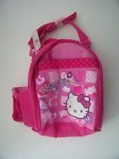 Hello Kitty en Rosa Mochila Escolar Bolsa Nuevo MWT