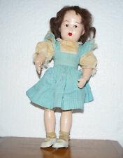 """Antique Jointed Wooden 17"""" Schoenhut Doll Girl"""