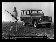 LAND ROVER 1962-1971 SERIES-IIB '88' RETRO POSTER BROCHURE CLASSIC ADVERT A3