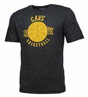 NBA Men's Cleveland Cavaliers Basketball Vintage Soft Cotton Slub T Shirt