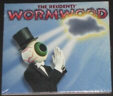 THE RESIDENTS wormwood USA CD 2015 reissue 3 panel card cover AVANT ROCK