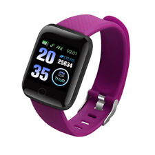 Women Smart Watch Bluetooth Heart Rate Blood Pressure Monitor Fitness Tracker UK