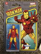 Marvel Legends IRON MAN RETRO 3.75 FIGURE 2021 Unpunched