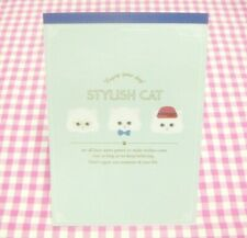 Stylish Cat Letter Pad / Made in Japan DAISO Stationery  Cats