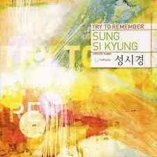 SUNG SI KYUNG [ TRY TO REMEMBER ] SPECIAL ALBUM SUNG SIKYUNG