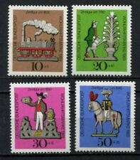 Germany - BRD : Tin Toys Semipostal set from 1969 - mint NH