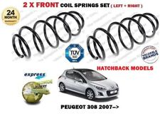 FOR PEUGEOT 308 1.6i 1.6 HDI HATCHBACK 2007 >NEW 2 X FRONT COIL SPRINGS SET