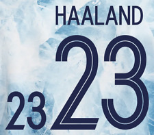 More details for norway name set euro 2020 away any name/number football shirt 2020 haaland m l