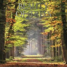 2021 Wall Calendar  Beauty of Trees, 16-Month, with 180 Reminder Stickers