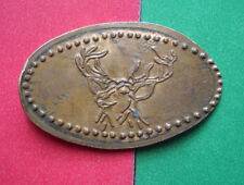 Buckhorn Hall Of Horns elongated penny San Antonio TX USA cent souvenir coin