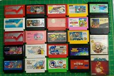 Nintendo Famicom and Disk System FC FDS 24 game lot