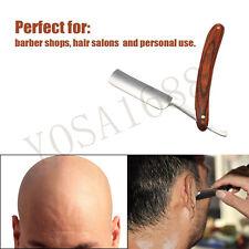 Folding Retro Men Shaving Razor Carbon Steel Straight Barber Beard Shaving Tool