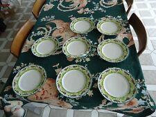 Antique Saxe Erdman Schlegelmilch Game Plate 8 Plates Duck Ducks