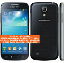SAMSUNG GALAXY S4 MINI GT-I9195 Unlocked 8gb Quad Core Android 4g Lte Smartphone