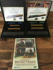 Flying Scotsman & Mallard Mini Trains 1:220 +100 Years of British trains CD