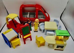 Little Tikes dollhouse size furniture lot van cozy coupe mom dad kitchen desk +