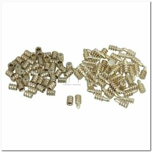50Pieces 0.8cm Dia Table Leaf Aligner Set with Pins and Sockets