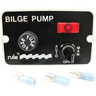 Rule 41 Bilge Pump Panel Switch with Light Auto/Off/Manual 3-Way Toggle Switch photo