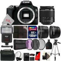 Canon EOS 250D / Rebel SL3 24.1MP 4K Digital SLR Camera + 32GB Accessory Kit