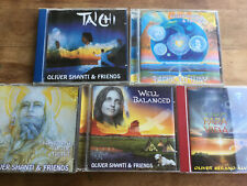 Oliver Shanti Serano-Alve [5 CD Alben] Tai Chi Rainbow Way Well Balanced Vida ..