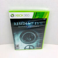 Resident Evil Revelations Microsoft Xbox 360 Video Game New Sealed