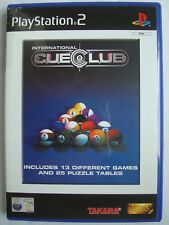 International Cue Club: Midas Touch (Sony PlayStation 2, 2002) ps2 game PAL