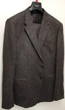Completi e abiti sartoriali da uomo marrone in lana