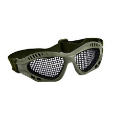 Outdoor Paintball Goggle Hunting Airsoft Metal Mesh Glasses Eye Protection RDR