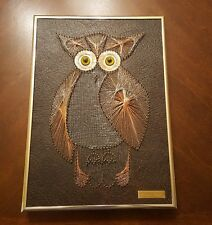 Carl Reed Wall Art Wire Sculpture Owl Modern Symmography