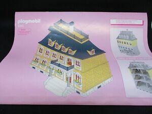 * Playmobil * Bauanleitung zu Set 5301 Nostalgie Puppenhaus *