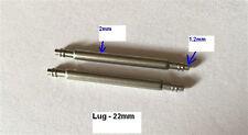 Custom 22mm springbar for Seiko Diver