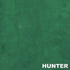 "Hunter Green Micro Suede Upholstery and Drapery Fabric  60"" Wide"