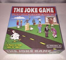 The Joke Game by All Things Equal - 2008 Edition - 100% Complete - Excellent!