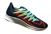 Nike Zoom Rival Fly Black University Red Multi Color Mens Running Shoes Size 9.5