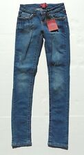 Red Rivet womens girls blue denim super skinny premium jeans size 1 extra small