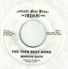 """Northern Motown 60's Soul 7""""-Marvin Gaye-The Teen Beat Song-US Detroit FreePress"""