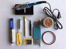 10 IN1 60W Electric Temperature Gun Welding Soldering Iron Tool Kit Set