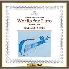 Narciso Yepes - J. S. Bach: Works for Lute [New CD] Rubidium Clock Cutting, Japa