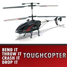 Crash Restraint RC ToughCopter Radio Remote Control Helicopter LED Lights