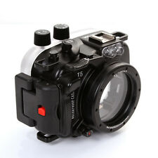MeiKon 40m 130ft Waterproof Case Housing Diving Case Cover Fr Nikon J5 10mm Lens