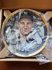 Lou Gehrig Hamilton Collection Best Of Baseball Plate Collection 1992