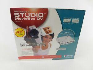 Pinnacle Studio MovieBox DV Version 9 FireWire Video Editing System