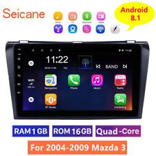 For 2004-2009 Mazda 3 Android 8.1 Car Radio GPS Navigation Bluetooth Head Unit
