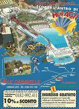 X2756 Parco acquatico Le Caravelle - Ceriale - Pubblicità 1996 - Advertising