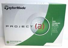 TaylorMade Project (a) Golf Balls White Dozen, 12 pack, 0379
